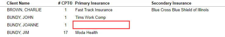Insurance Card Mapping (Standalone) – Therabill