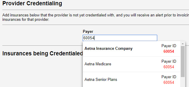 Credentialing Alerts – Therabill